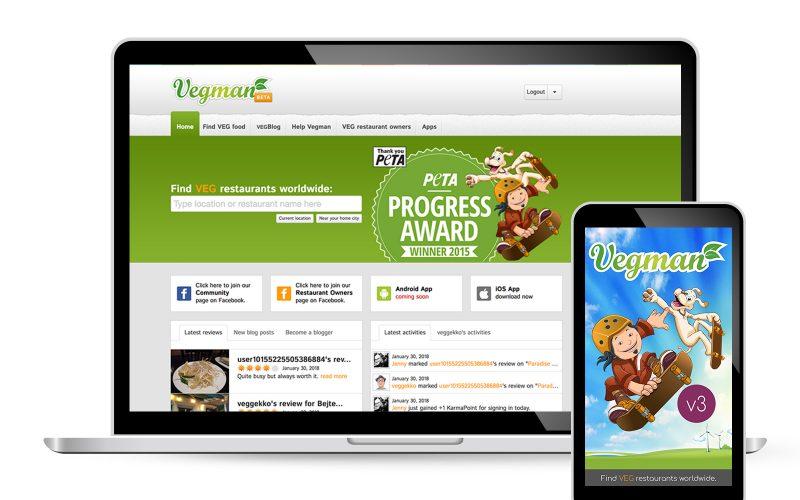 Vegman.org & App